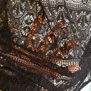 Avenue Swim - Avenue Black Lace Coverup